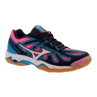 Zapatillas indoor mujer WAVE PHANTOM peacot/white/diva blue