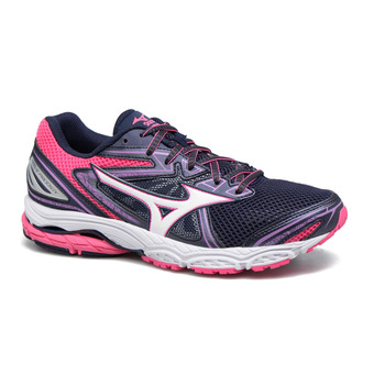 Zapatillas de running mujer WAVE PRODIGY peacoat/white/pink glo