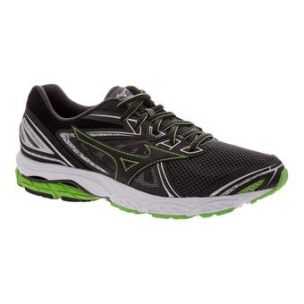 Chaussures de running homme WAVE PRODIGY dark shadow/black/ j green