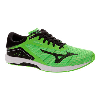 Chaussures de running homme WAVE SONIC neon green/black/white