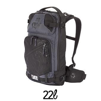Mochila 22L CALGARY negro/gris