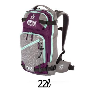 Sac à dos 22L CALGARY violet/gris