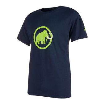 Camiseta hombre MAMMUT LOGO marine/green