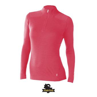 Camiseta térmica mujer MERINO 250 potion pink heather
