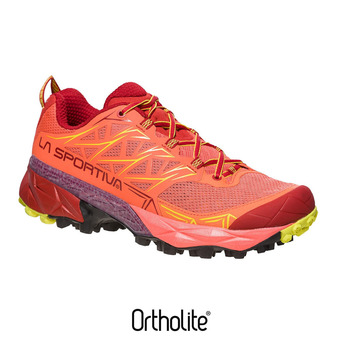 Chaussures trail femme AKYRA berry