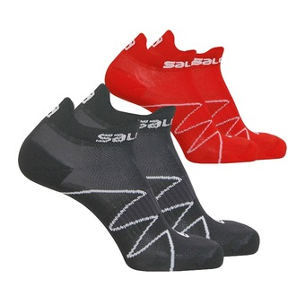 Pack de 2 pares de calcetines XA SONIC black/dynamic