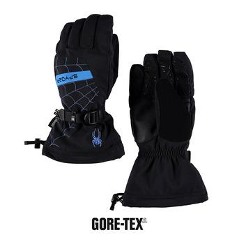 Guantes de esquí niño OVERWEB GTX® black/french blue
