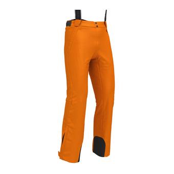 Pantalon de ski à bretelles homme SAPPORO orange