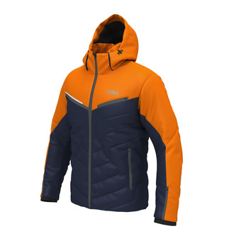 Veste de ski homme KANDAHAR marine orange