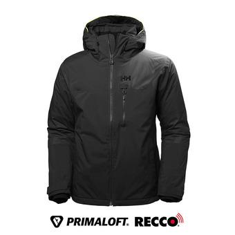 Chaqueta de esquí Primaloft® hombre DOUBLE DIAMOND black