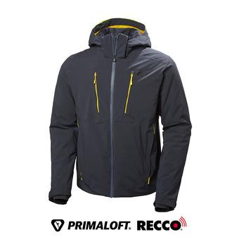 Chaqueta de esquí Primaloft® hombre ALPHA 3.0 blue