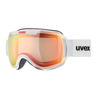 Masque de ski DOWNHILL 2000 VFM white/mirror red variomatic® clear