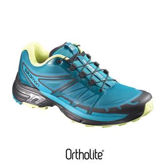 Zapatillas de trail mujer WINGS PRO 2 enamel blu/blubrd/su