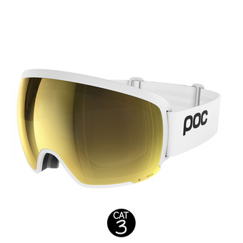 Masque de ski ORB CLARITY hydrogen white/spektris gold