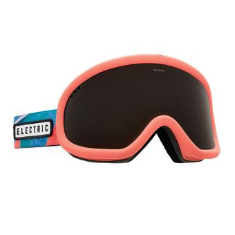 Gafas de esquí CHARGER pink palms/brose