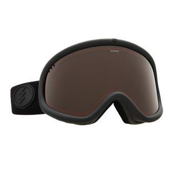 Masque de ski CHARGER XL matte black/brose