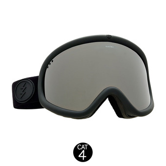 Masque de ski CHARGER XL matte black/brose-silver chrome