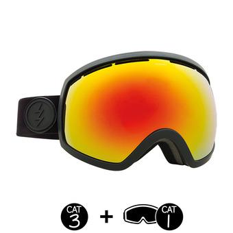 Gafas de esquí EG2 matte black/brose-red chrome + light green - 2 pantallas