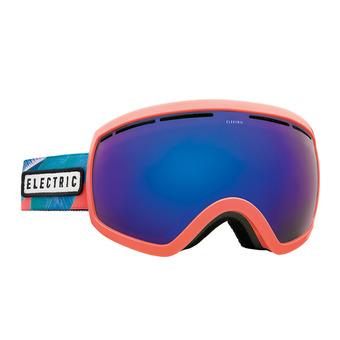 Masque de ski EG2.5 pink palms/brose-blue chrome