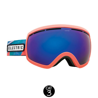 Masque de ski EG2.5 pink palms/brose-blue chrome