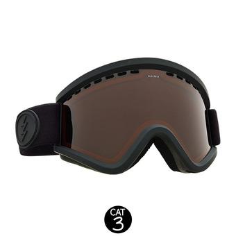 Masque de ski EGV matte black/brose
