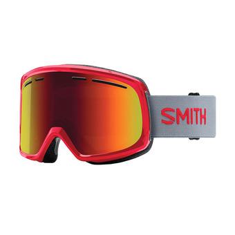 Masque de ski homme RANGE fire / red sol-x mirror