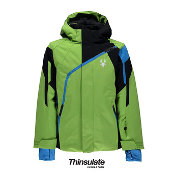 Chaqueta de esquí niño CHALLENGER fresh/black/french blue
