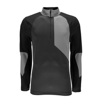 Maillot ML homme CHARGER THERMASTRETCH polar/limestone/black