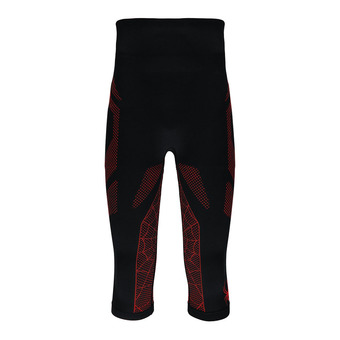 Mallas 3/4 hombre CAPTAIN black/red