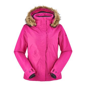 Chaqueta de esquí mujer THE ROCKS nebula pink