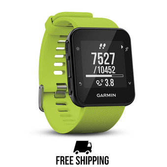 Montre GPS FORERUNNER 35 citron vert
