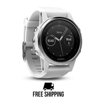 Reloj GPS Fenix 5S blanco