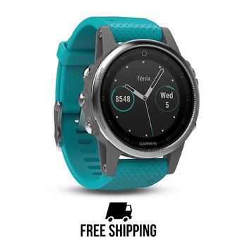 Montre GPS Fenix 5S turquoise