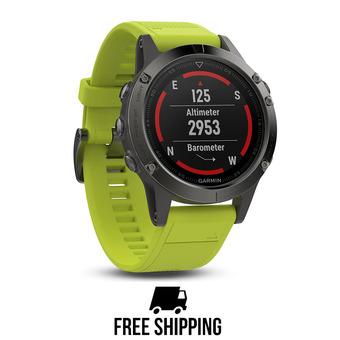 fenix 5.Amp Yellow.GPS Watch.WW UNISEX Jaune
