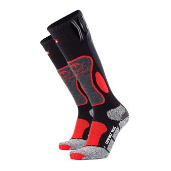 Calcetines térmicos hombre POWERSOCK HEAT negro/rojo