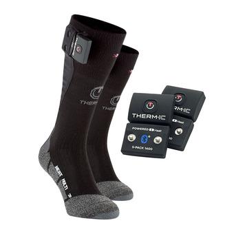 Calcetines térmicos POWER MULTI negro + baterías Bluetooth 700