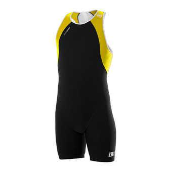 Combinaison uSUIT black/yellow/white