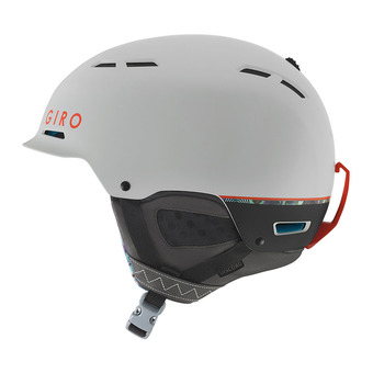 Casco DISCORD matte light grey piste out