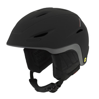 Casco UNION MIPS black/red sport tech