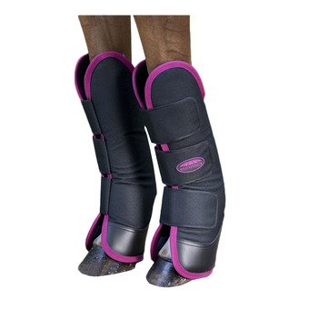Protections de transport 1200D noir/berry