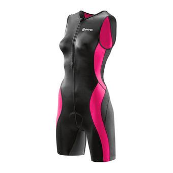 Tritraje mujer TRI400 black/pink