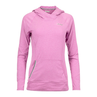 Sudadera mujer OCEAN SIDE orchid/heather