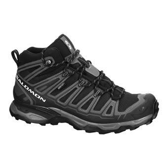 Zapatillas de senderismo mujer X ULTRA MID 2 GTX black/black/grey