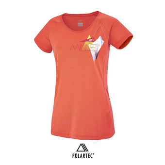 Camiseta mujer POWER SUMMIT hot coral