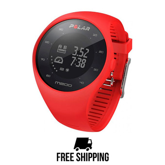 Reloj pulsómetro conectado M200 GPS rojo