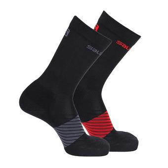 Pack de 2 pares de calcetines XA 2P black/black