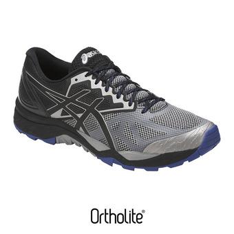 Zapatillas de trail hombre GEL-FUJITRABUC GEL-FUJITRACUBO 6 aluminium/black/limoges