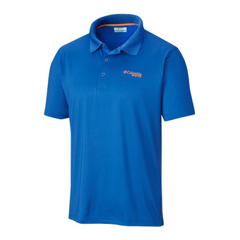 Polo hombre LOW DRAG vivid blue/jupiter