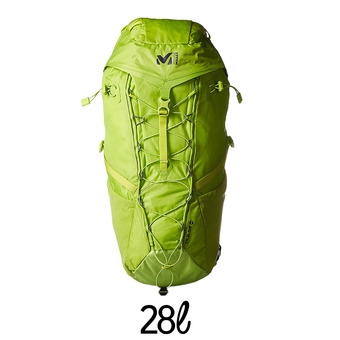 Sac à dos de randonnée 28L PULSE acid green
