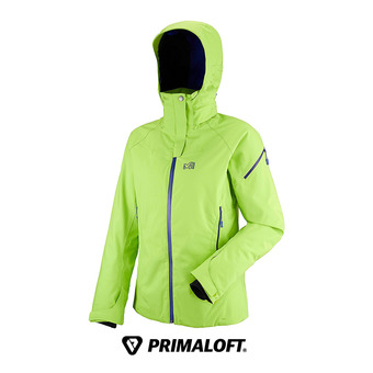 Chaqueta mujer LD WHISTLER STRETCH acid green/purple